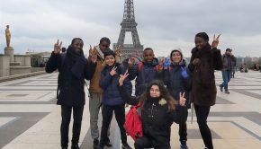 Sortie Afev 95 à Paris